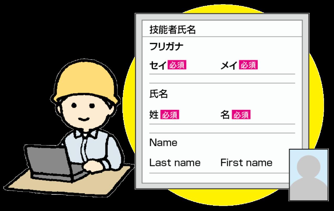 情報の登録